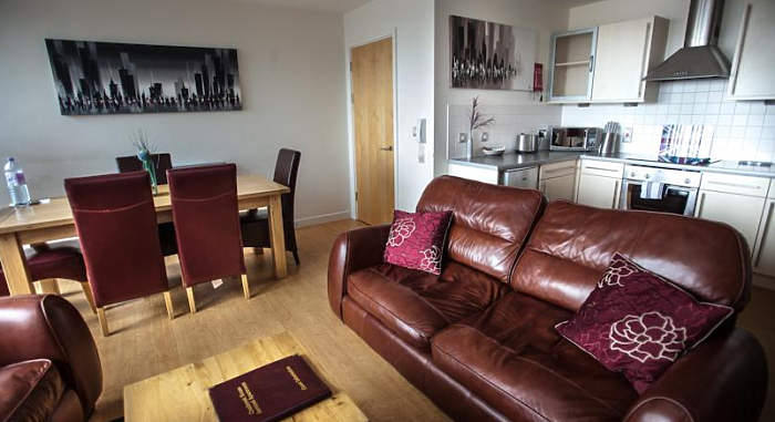 Serviced Lettings - Nottingham Central Apartments - 2