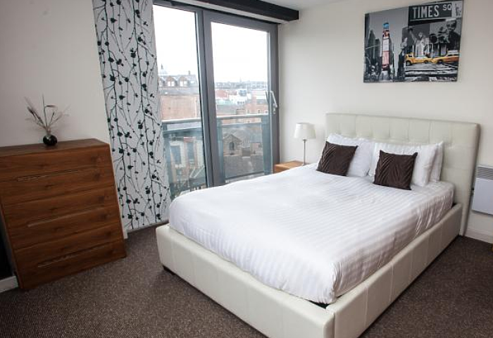 Serviced Lettings - Nottingham Central Apartments - 3
