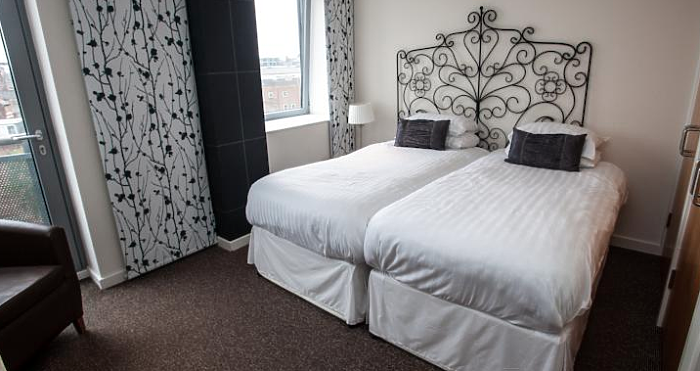 Serviced Lettings - Nottingham Central Apartments - 4