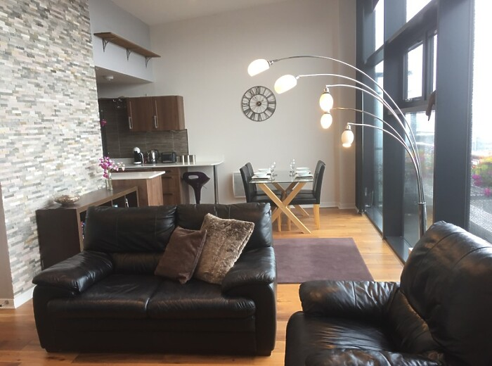 Serviced Lettings - Clyde Penthouse - 3