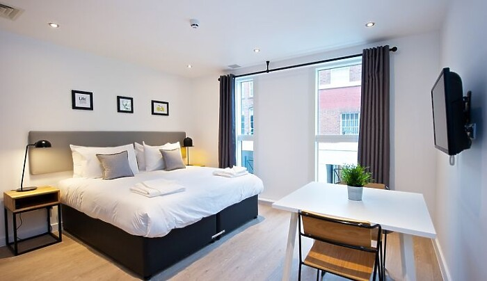 Serviced Lettings - York Barbican Apartments - 1