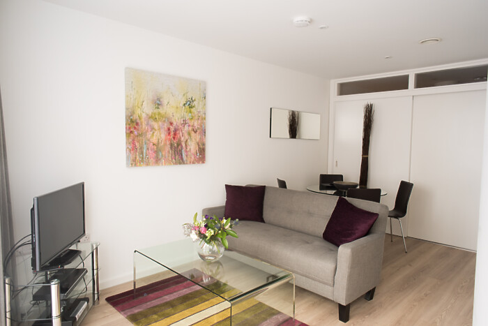 Serviced Lettings - Nelson Court Studio - 2