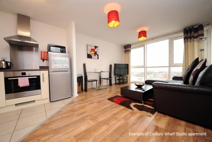 Serviced Lettings - Cardiff Wharf Studios - 2