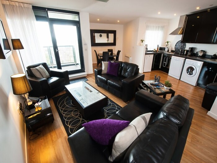 Serviced Lettings - Market Apartments Penthouse - 4